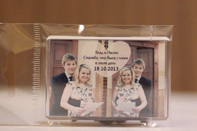 Текст на магнитик подарок гостям на свадьбу 98